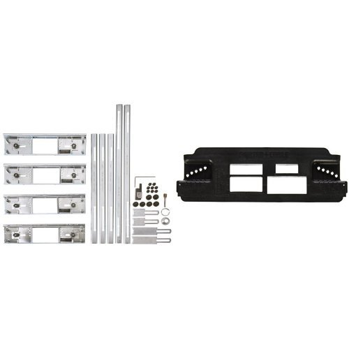 PORTER-CABLE 59381 Hinge Butt Template Kit with Strike and Latch (Latch Template)