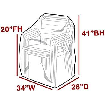 Amazon Com Outdoor Vinyl Covers Patio Chair Covers
