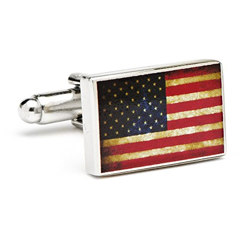 Cufflinks, Inc. Vintage USA Flag