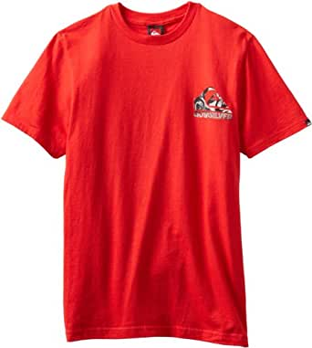 Quiksilver Men's Back It Up, Red, XX-Large