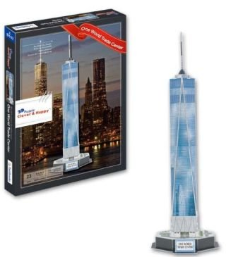 CALEBOU 3D PUZZLES One World Trade Center New York 3 D Model Kit