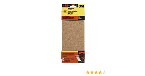 3M 9011DCNA 4.5-Inch by 11-Inch Power Sanding Sheets, Coarse Grit, 4-pack - Sandpaper Sheets - Amazon.com