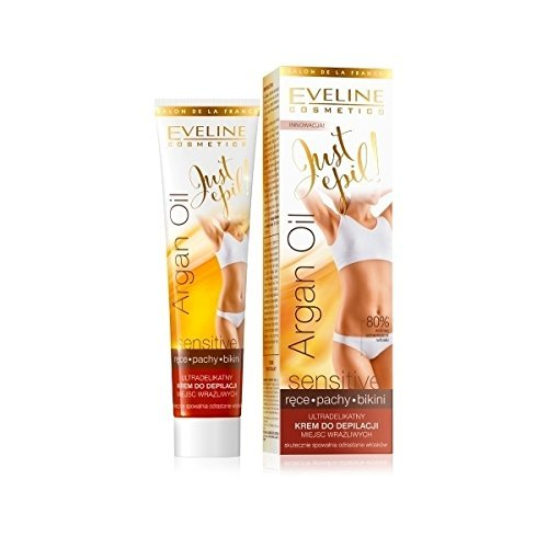 Eveline Justepil Argan Oil 9in1 Ultra Soft Hair Removal Cream 125ml by Eveline