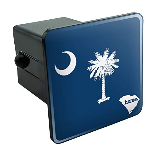 Graphics and More South Carolina SC Home State Flag Officially Licensed Tow Trailer Hitch Cover Plug Insert 2