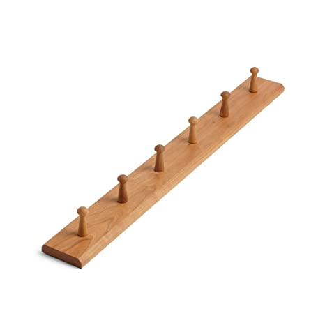 Amazon.com: MUMO Perchero flotante de pared de madera de ...