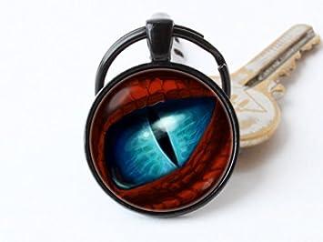 Ojo de dragón llavero, llavero, diseño de ojo de dragón ...