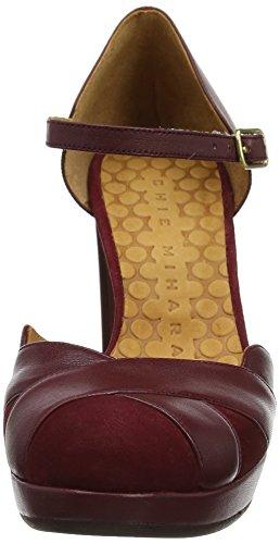 Chie Mihara Women's Tash Ankle Strap Heels Red (Ante Granate-tailu Granate) 0fkvS6WEI