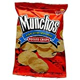 Munchos Potato Crisps, 6.25oz (Pack of 4)