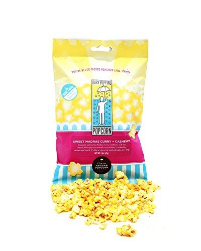 UPC 818827015561, Gary Poppins Sweet Madras Curry + Cashews Popcorn, Bag, 1.6oz (30 Pack)