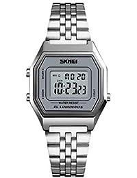 Relógio Feminino Skmei Digital 1345 Prata