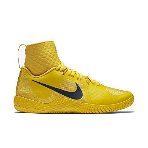 Tenis Nike Vivid Sulfur de Flare Zapatillas Amarillo para Mujer Obsidian qwgtw