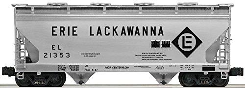ERIE-LACKAWANNA ACF 2-BAY ALUMINUM HOPPER #21353 ()