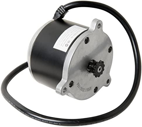Alfa Wheels Electric Scooter Motor Currie Technologies 24 Volt 500 Watt DC for 500 Series Schwinn & IZIP Reversible with 11 Tooth Sprocket #25 Chain ...