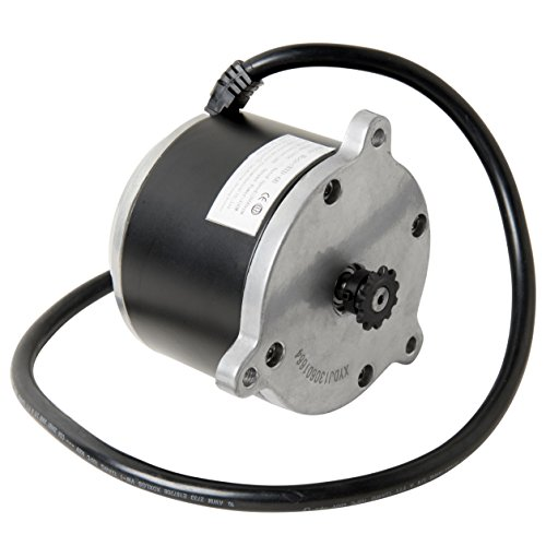 (Electric Scooter Motor Currie Technologies 24 Volt 500 Watt DC for 500 Series Schwinn & IZIP Reversible with 11 Tooth Sprocket #25 Chain Model Numbers XYD-6B SD-156 XYDJ130601664)