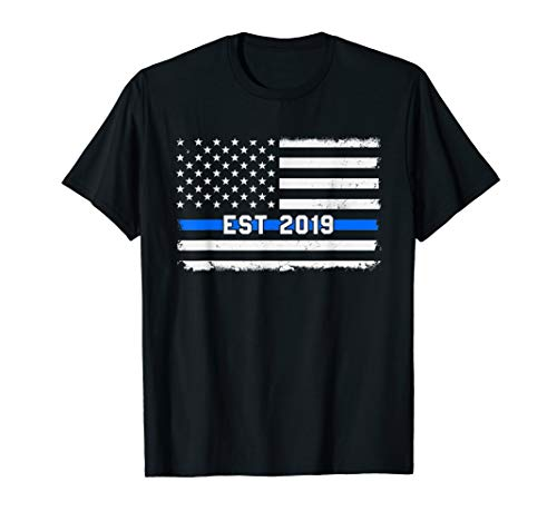 Police Academy 2019 Graduate T shirt Graduation Gift -