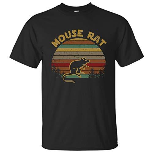 Parks and Recreation Mouse Rat Shirt (Black - XL)