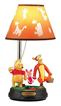 Winnie The Pooh Table Lamp Lovely Blue Aquarium For Bedroom Dis Yellow