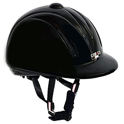 PFIFF Casco Riding Helmet Youngster Black black Size:L by casco
