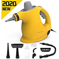 Comforday Multi-Purpose Handheld Pressurized Steam Cleaner with 9-Piece Accessories for Stain Removal, Steamer, Carpets, Curtains, Car Seats, Kitchen Surface & Much More