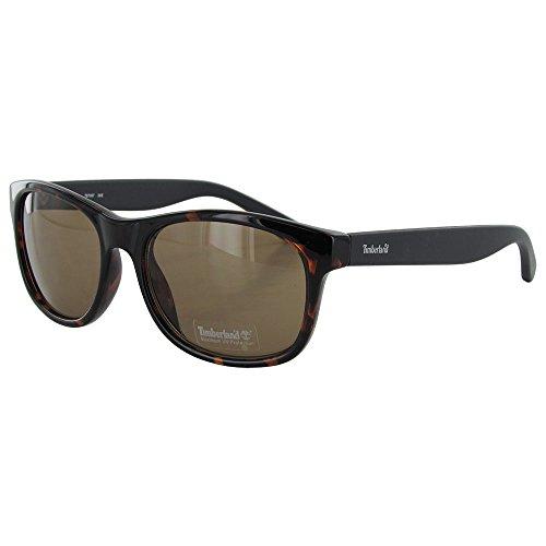 Timberland TB7087 Wayfarers Style Women's Sunglasses,Brown/Brown - Polarized Sunglasses Timberland