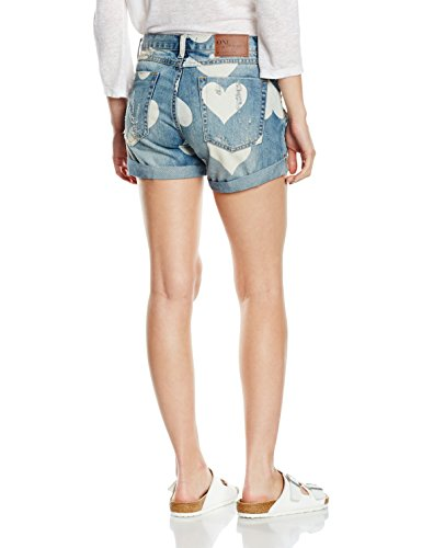 Blu Shorts One Teaspoon Donna Chargers cupid x1vxFZq7n