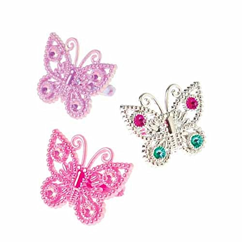 (U.S. Toy JA739 Butterfly Rings)