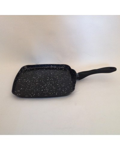 Hispano Tebisa - Asador ceramica hispano tebisa acabo en piedra, color negro: Amazon.es: Hogar