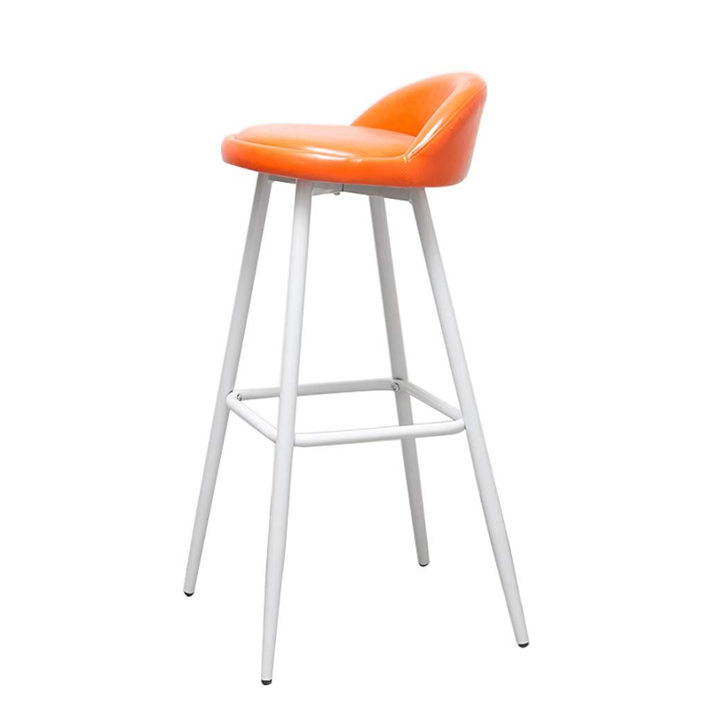 Qing Mei Moderne Mode Weissmetall Beine Bar Stuhl Barhocker Mobel
