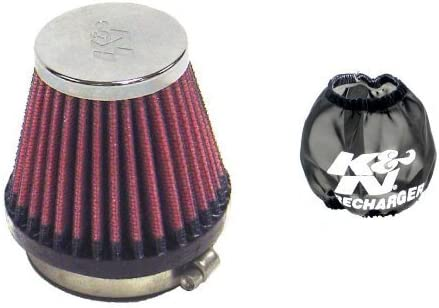 K N Rc 2340 Universal Chrom Filter K N 22 8028pk Luftfilterhülle Auto