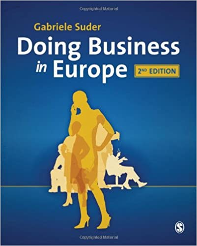 Book Doing Business in Europe