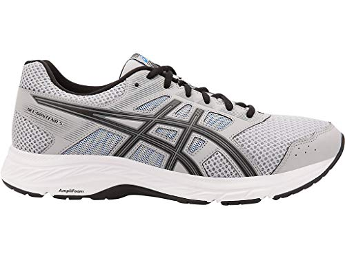 Asics Athletic Shoes - ASICS Men's Gel-Contend 5 Running Shoes, 12M, MID Grey/Black