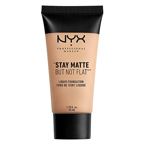 The Natural Matte Foundation (NYX PROFESSIONAL MAKEUP Stay Matte but not Flat Liquid Foundation, Creamy Natural, 1.18 Fluid Ounce)