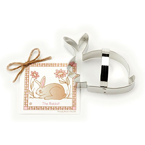 - Easter Bunny / Rabbit Cookie and Fondant Cutter - Ann Clark - 5.3 Inches - US Tin Plated Steel