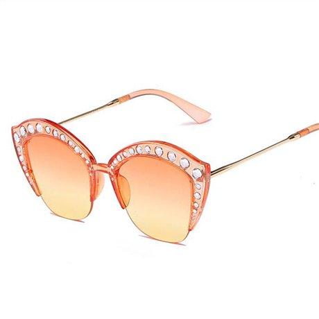 Sol de Negro Tamaño de Orange Sol de Tamaño GGSSYY Gran Transparente de Calidad Gran Óptico de Plata Mujer Marco Moda Gafas Gran Acetato Gafas Marco de Alta qqvAI