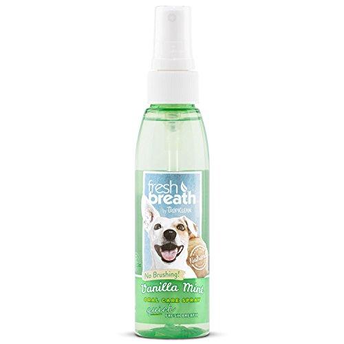Dog Breath Spray (Fresh Breath Vanilla Mint Oral Care Spray)