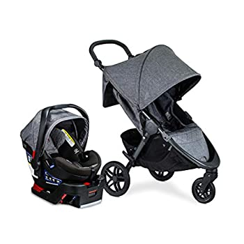 Image of Baby Britax B-Free Travel System with B-Safe Ultra Infant Car Seat - Birth to 65 pounds, Vibe