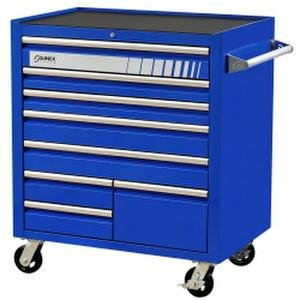 Sunex Tools BLUE 8 DRAWER SERVICE CART 8060BL