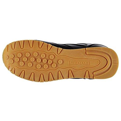 Kappa persaro Trainer Herren Schwarz Sport Schuhe Sneakers Schuhe