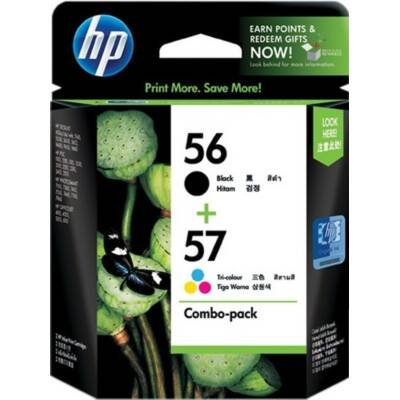 HP Consumables C9321FN#140 56 57 Inkjet Print Combo Pack (140 Printer Inkjet Cartridge)