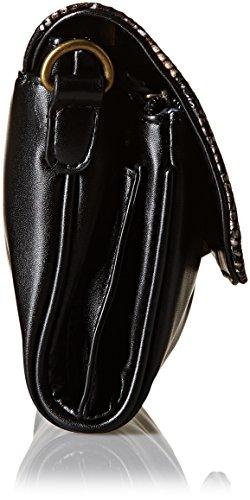 Cuero Mujer Bolso única Hombro única 22250 Negro de Black Lollipops Talla Negro al para Talla 5TWqXwR0R