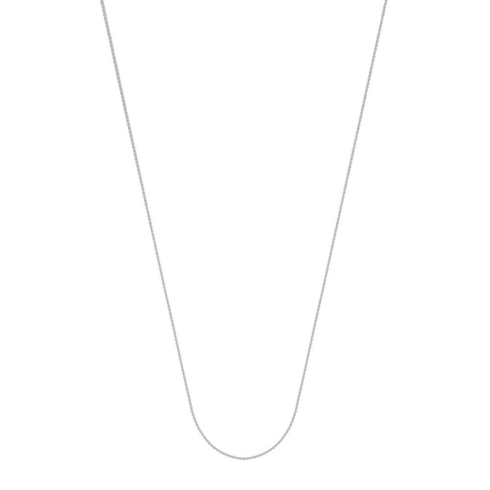 18 Kホワイトゴールド0.7 MMケーブルチェーンネックレスロブスター閉鎖 – 長オプション: 16 18 B076XVVH13