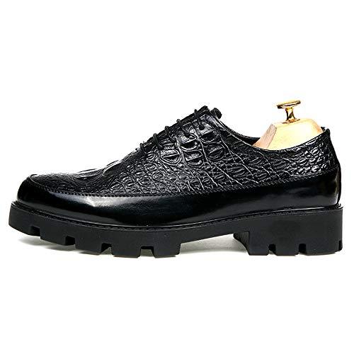 in coccodrillo 38 2018 Nero Xujw Oxford Nero Basse pelle Scarpe EU in da di Dimensione poliuretano di lavoro Scarpe casual moda Stringate Color shoes a1xq5wA1Z