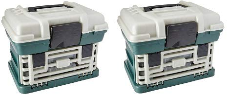 Plano 136200 2-by Rack System 3600 Stowaway Tackle Box (2-(Pack))