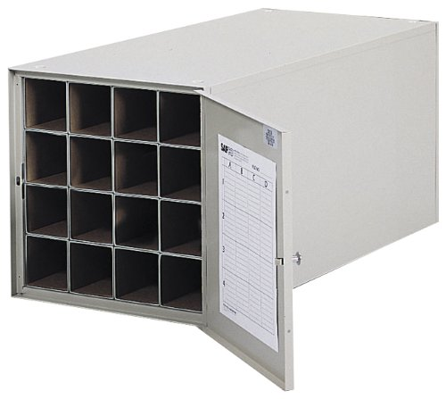 - Safco Products 4960 Steel Roll File Horizontal Storage Cabinet, 16 Tube, Tropic Sand
