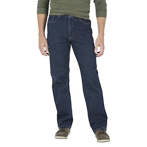 Wrangler Mens Jeans Regular Fit U Shape Jean Regular Fit Men Jeans (36X36, Dark Indigo)