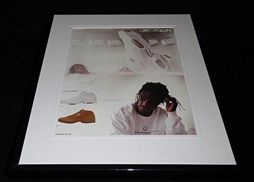 Edgerrin James 2002 Reebok Framed 11x14 ORIGINAL Vintage Advertisement - James Framed Edgerrin