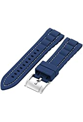 Fossil Silicone 22mm Watch Strap