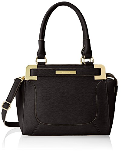 Anne Klein Trinity Satchel Top Handle Bag Black One Size