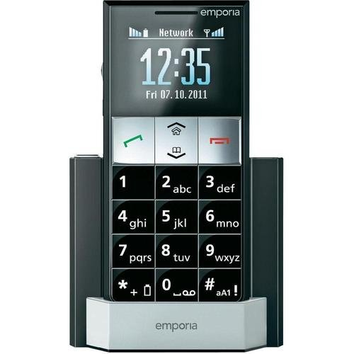 Emporia Essence Plus (Unlocked) Senior Elderly Big Button GSM Cellular Phone (Best Torch In India)