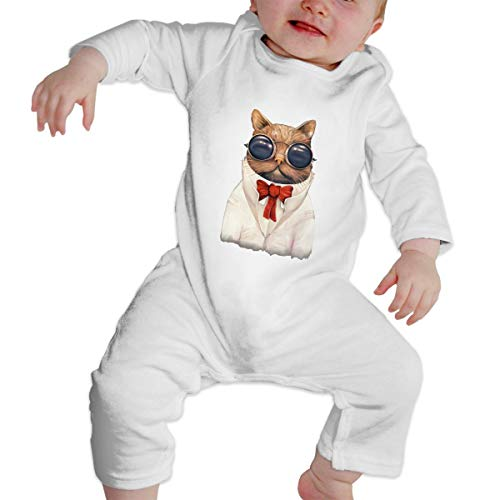 KAYERDELLE Astro-cat Long Sleeve Unisex Baby Outfit for 6-24 Months -